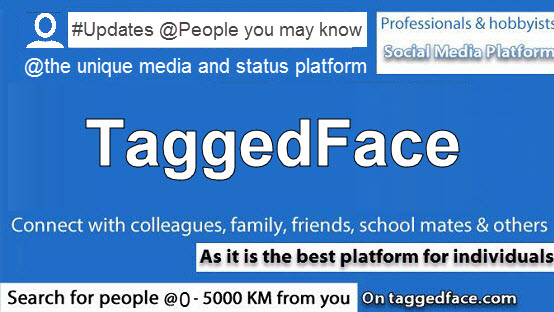 TaggedFace (#Updates @People you may know)