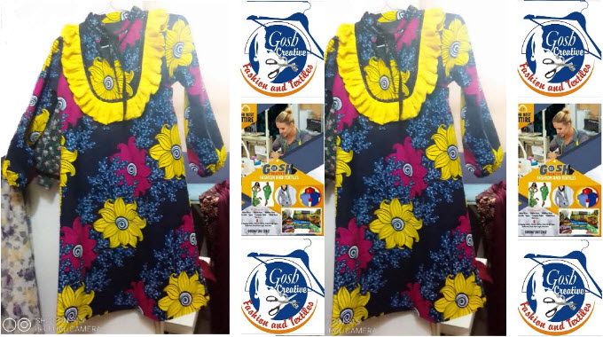 Sun Flower Lady Pride Casual Gown
