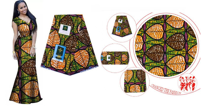 African 100% Cotton Real Wax Prints